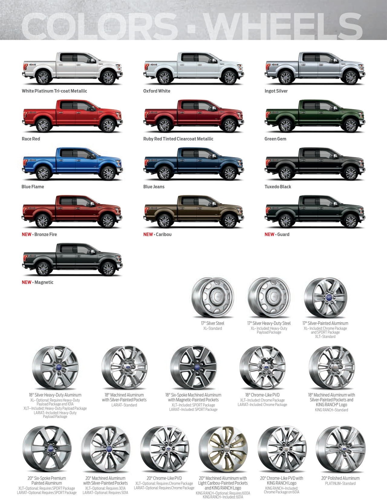2014 ford f 350 truck xl - 2014 Ford F 350 Color Chart